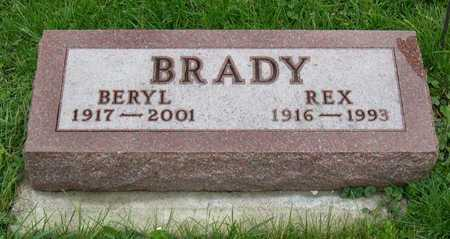 BRADY, BERYL - Linn County, Iowa   BERYL BRADY