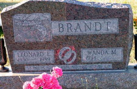 BRANDT, LEONARD L. - Linn County, Iowa   LEONARD L. BRANDT