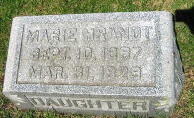 BRANDT, MARIE - Linn County, Iowa | MARIE BRANDT