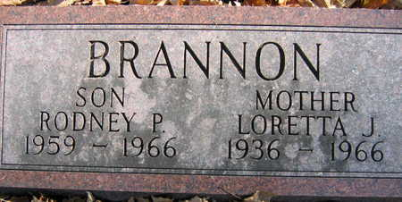 BRANNON, RODNEY P. - Linn County, Iowa | RODNEY P. BRANNON
