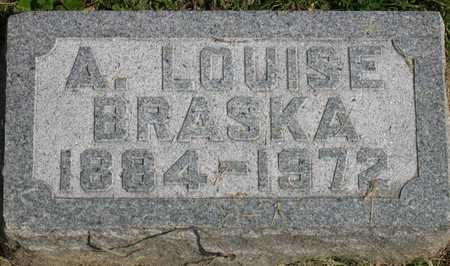BRASKA, A. LOUISE - Linn County, Iowa | A. LOUISE BRASKA
