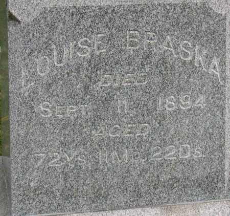 BRASKA, LOUISE - Linn County, Iowa | LOUISE BRASKA
