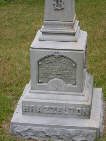 BRAZZELTON, BENJ. O. - Linn County, Iowa | BENJ. O. BRAZZELTON