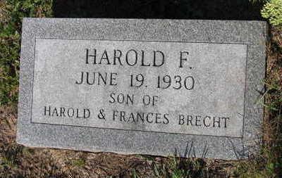 BRECHT, HAROLD F. - Linn County, Iowa   HAROLD F. BRECHT