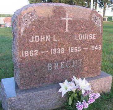 BRECHT, LOUISE - Linn County, Iowa   LOUISE BRECHT