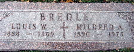 BREDLE, MILDRED A. - Linn County, Iowa | MILDRED A. BREDLE