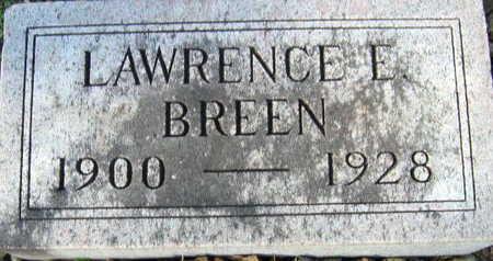 BREEN, LAWRENCE E - Linn County, Iowa | LAWRENCE E BREEN