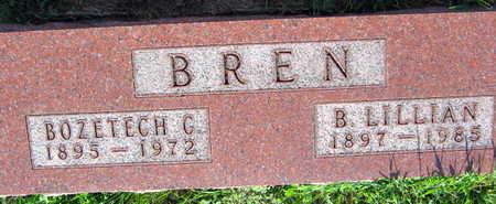 BREN, BOZETECH C. - Linn County, Iowa | BOZETECH C. BREN