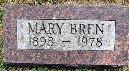 BREN, MARY - Linn County, Iowa   MARY BREN