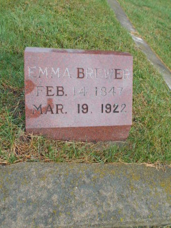 NIGHTINGALE BREWER, EMMA - Linn County, Iowa | EMMA NIGHTINGALE BREWER