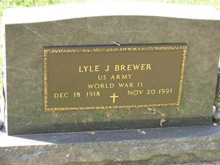BREWER, LYLE J. - Linn County, Iowa | LYLE J. BREWER