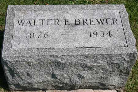 BREWER, WALTER E. - Linn County, Iowa | WALTER E. BREWER