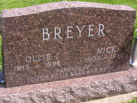 BREYER, OLLIE - Linn County, Iowa | OLLIE BREYER