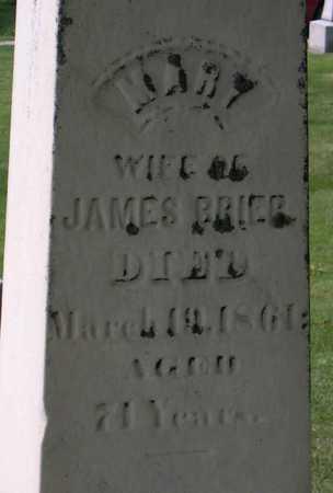 BRIER, MARY - Linn County, Iowa | MARY BRIER