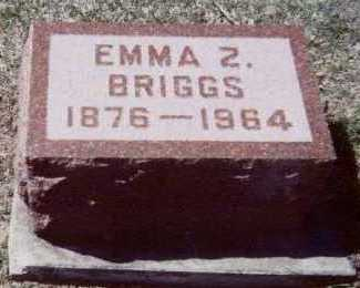 BRIGGS, EMMA Z. - Linn County, Iowa | EMMA Z. BRIGGS