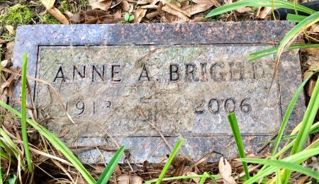 BRIGHT, ANNE A. - Linn County, Iowa   ANNE A. BRIGHT