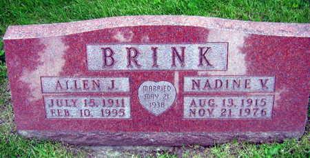 BRINK, ALLEN J. - Linn County, Iowa | ALLEN J. BRINK