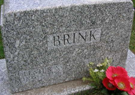 BRINK, BELVA D. - Linn County, Iowa | BELVA D. BRINK