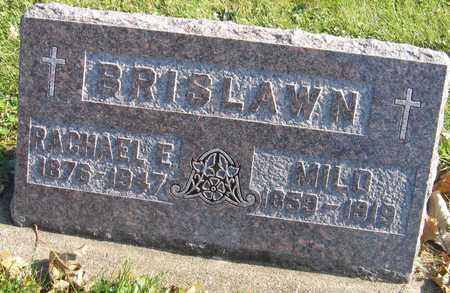 BRISLAWN, MILO - Linn County, Iowa | MILO BRISLAWN