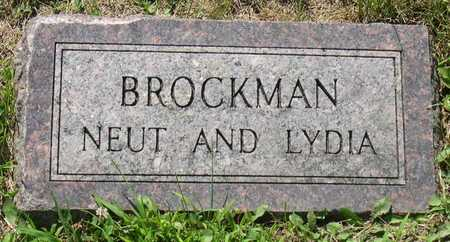 BROCKMAN, NEUT - Linn County, Iowa | NEUT BROCKMAN