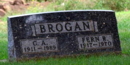 BROGAN, FERN R. - Linn County, Iowa   FERN R. BROGAN