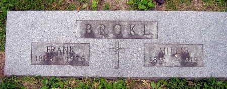 BROKL, FRANK - Linn County, Iowa | FRANK BROKL
