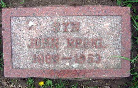 BROKL, JOHN - Linn County, Iowa   JOHN BROKL