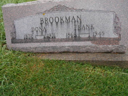 BROOKMAN, G. FRANCIS - Linn County, Iowa | G. FRANCIS BROOKMAN