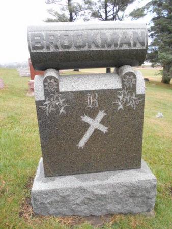 BROOKMAN, FAMILY STONE - Linn County, Iowa | FAMILY STONE BROOKMAN