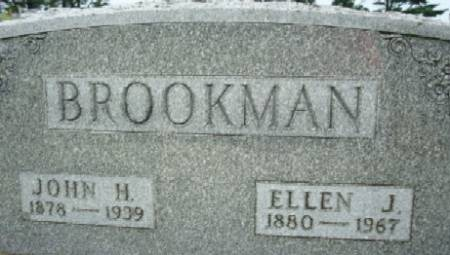 BROOKMAN, JOHN H. - Linn County, Iowa | JOHN H. BROOKMAN