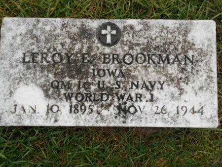 BROOKMAN, LEROY E. - Linn County, Iowa | LEROY E. BROOKMAN