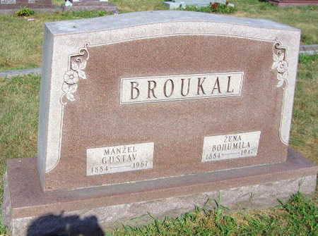 BROUKAL, GUSTAV - Linn County, Iowa | GUSTAV BROUKAL