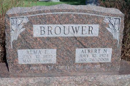 BROUWER, ALMA E. - Linn County, Iowa | ALMA E. BROUWER