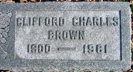 BROWN, CLIFFORD CHARLES - Linn County, Iowa | CLIFFORD CHARLES BROWN