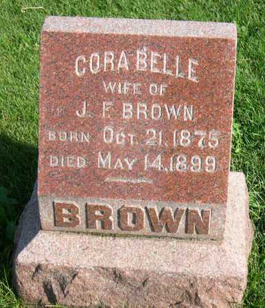 BROWN, CORA BELLE - Linn County, Iowa | CORA BELLE BROWN