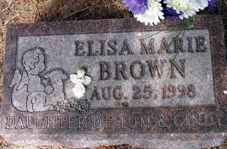 BROWN, ELISA MARIE - Linn County, Iowa | ELISA MARIE BROWN