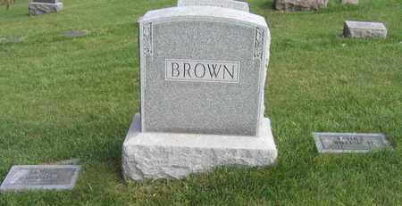 BROWN, FAMILY STONE - Linn County, Iowa | FAMILY STONE BROWN