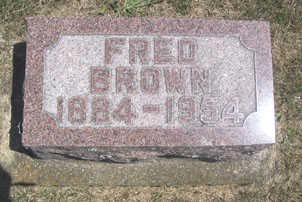 BROWN, FRED - Linn County, Iowa | FRED BROWN