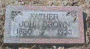 BROWN, JOHN - Linn County, Iowa   JOHN BROWN