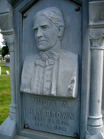 BROWN, JULIA A. - Linn County, Iowa | JULIA A. BROWN