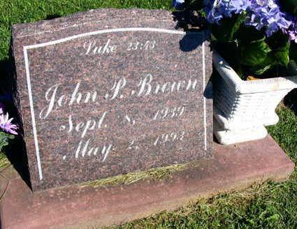 BROWN, JOHN P. - Linn County, Iowa | JOHN P. BROWN
