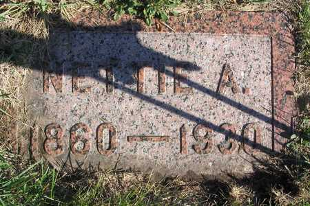 BROWN, NETTIE A. - Linn County, Iowa | NETTIE A. BROWN