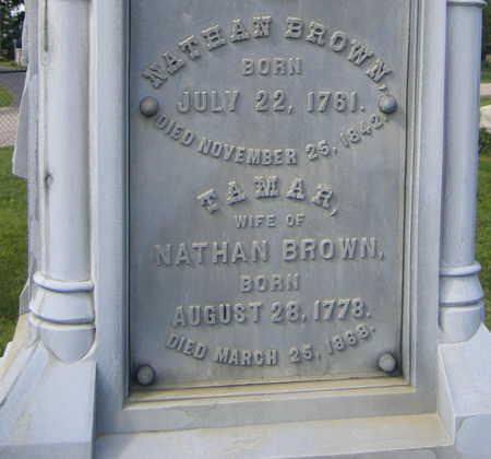 BROWN, TAMAR - Linn County, Iowa | TAMAR BROWN
