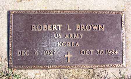 BROWN, ROBERT L. - Linn County, Iowa | ROBERT L. BROWN