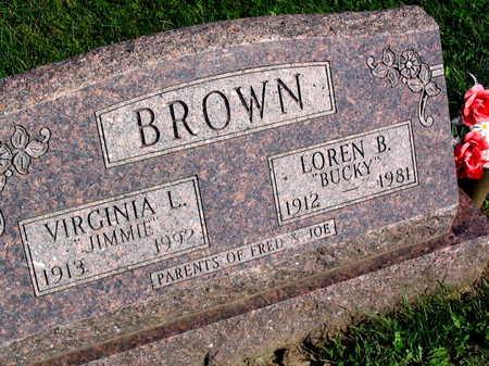BROWN, LOREN B.