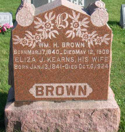 KEARNS BROWN, ELIZA J. - Linn County, Iowa | ELIZA J. KEARNS BROWN