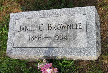 BROWNLIE, JANET C. - Linn County, Iowa   JANET C. BROWNLIE