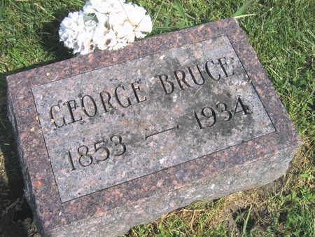 BRUCE, GEORGE - Linn County, Iowa | GEORGE BRUCE