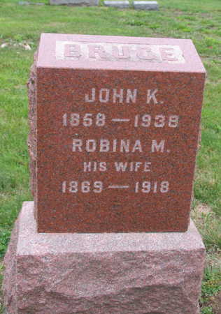 BRUCE, JOHN K. - Linn County, Iowa   JOHN K. BRUCE
