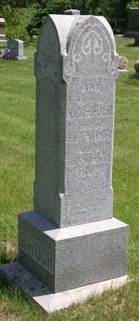 BRUGH, ANN - Linn County, Iowa | ANN BRUGH